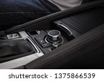 multimedia control buttons of a ... | Shutterstock . vector #1375866539