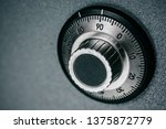 close up of a combination dial... | Shutterstock . vector #1375872779