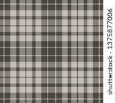 seamless check plaid pattern...   Shutterstock .eps vector #1375877006