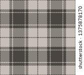 seamless check plaid pattern...   Shutterstock .eps vector #1375878170