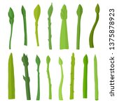 asparagus vegetable food eating ...   Shutterstock .eps vector #1375878923