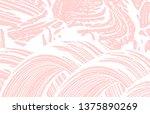 grunge texture. distress pink...   Shutterstock .eps vector #1375890269
