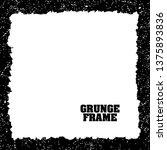 grunge texture frame abstract...   Shutterstock .eps vector #1375893836