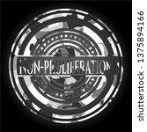 non proliferation on grey...   Shutterstock .eps vector #1375894166