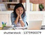 asian ethnicity student girl... | Shutterstock . vector #1375900379