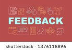 feedback word concepts banner....