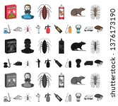 pest  poison  personnel and... | Shutterstock . vector #1376173190