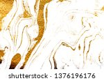 golden swirl  artistic design.... | Shutterstock . vector #1376196176