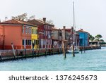 italy  venice  burano 2 march... | Shutterstock . vector #1376245673