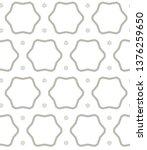 seamless vector pattern in... | Shutterstock .eps vector #1376259650