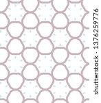 seamless vector pattern in... | Shutterstock .eps vector #1376259776