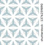 seamless vector pattern in... | Shutterstock .eps vector #1376259890