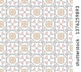 seamless vector pattern in... | Shutterstock .eps vector #1376259893