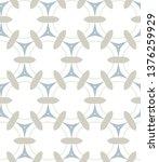 seamless vector pattern in... | Shutterstock .eps vector #1376259929