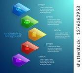 light business infographic... | Shutterstock .eps vector #1376262953