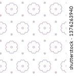 seamless vector pattern.... | Shutterstock .eps vector #1376263940