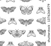 seamless pattern with... | Shutterstock .eps vector #1376266979
