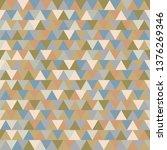 triangle seamless pattern | Shutterstock .eps vector #1376269346
