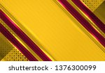 vector illustration of abstract ... | Shutterstock .eps vector #1376300099