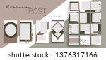 design backgrounds for social... | Shutterstock .eps vector #1376317166