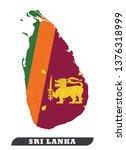 map of sri lanka. sri lankan...   Shutterstock .eps vector #1376318999