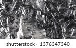 Gray Abstract Background Molten ...
