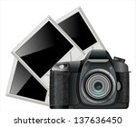 photo camera with photos