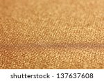 decorative gold background with ... | Shutterstock . vector #137637608
