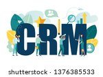 vector illustration  customer...   Shutterstock .eps vector #1376385533