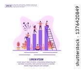 vector illustration concept of...   Shutterstock .eps vector #1376420849