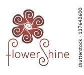 abstract infinite loop logo... | Shutterstock .eps vector #137642600