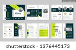 brochure creative design.... | Shutterstock .eps vector #1376445173