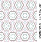 seamless vector pattern in... | Shutterstock .eps vector #1376457209