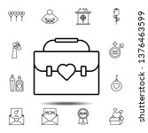women's day  bag  heart icon....