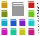 book cover  text multi color...