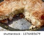 traditional italian easter pie...   Shutterstock . vector #1376485679