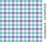 easter tartan plaid. scottish... | Shutterstock .eps vector #1376492150