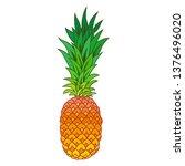 hand drawn illustration of... | Shutterstock .eps vector #1376496020