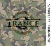 trance written on a camo texture | Shutterstock .eps vector #1376508140