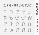 bookmark related vector icon...