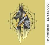 Anubis Illustration For...