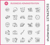business administration hand... | Shutterstock .eps vector #1376629253