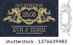 vector template flyer ...   Shutterstock .eps vector #1376639483