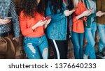 millennials leisure habit.... | Shutterstock . vector #1376640233