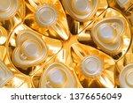 empty box of chocolate texture... | Shutterstock . vector #1376656049