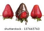 Strawberries And Chocolate On ...