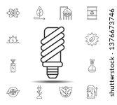 economical light bulb icon....