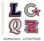 modern professional letter... | Shutterstock .eps vector #1376679620