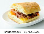 delicious roast beef sandwiches ...
