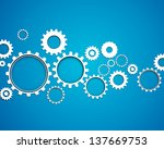 vector illustration of abstract ... | Shutterstock .eps vector #137669753